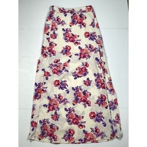 Charlotte Russe Floral Maxi Skirt
